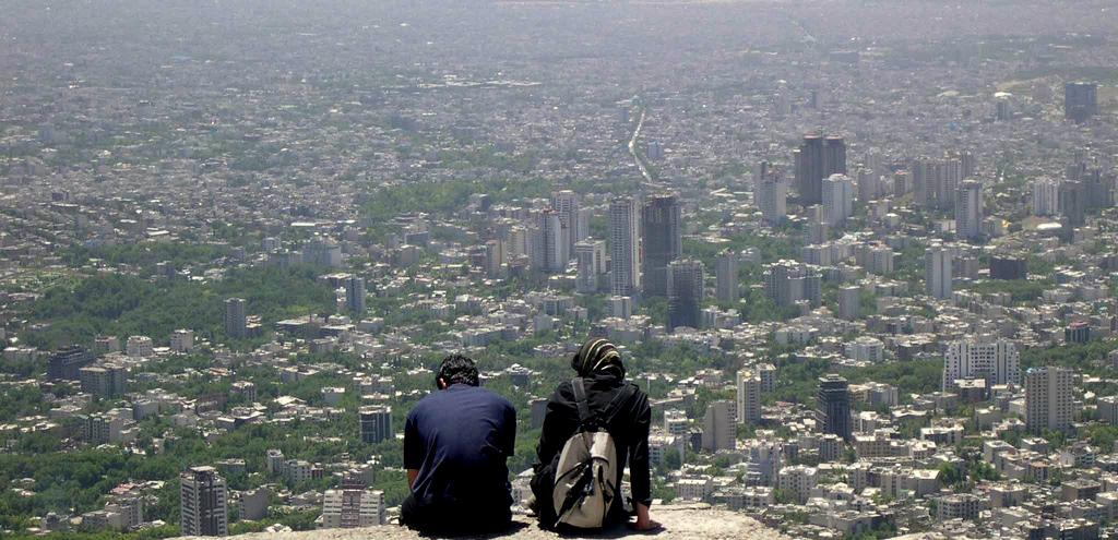 Foto einer großen Stadt